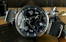 Limited Edition Marriage Mens Wrist Watch Masonic Open Face 18 Jewels 3602 Gift