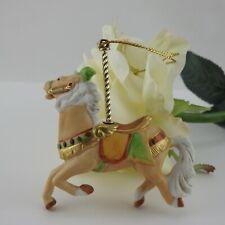 Vintage Lenox China Carousel Horse Christmas Tree Ornament 1989