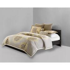 N Natori Medallion  Queen Duvet Cover ONLY & 2 decorative pillow - New open Pack