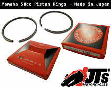 PISTON RINGS YAMAHA RD50 M RD50M RD50MX ALL 0.50 OVERSIZE MADE IN JAPAN 40.50