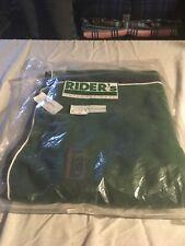 New Hunter/Navy Riders International Fleece Exercise Rug