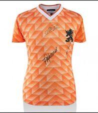 Maglia Olanda Autografata da Van Basten, Gullit e Rijkaard + certificato