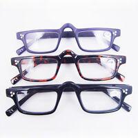 Vintage Nerd Style Clear Reading Glasses Eyeglasses Readers CE +1 +1.5 +2 +3 +4