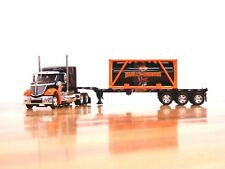 """DCP #81155 """"Harley-Davidson"""" Int'l Lonestar w/Container Trailer & Tank Load 1:64"""