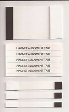 CRT Yoke Strip Magnet Card Tabs for Wells Gardner and any Color Convergence Tube