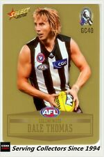 2012 SELECT AFL CHAMPIONS PEELED GOLD PARALLEL CARD GC40 DALE THOMAS-COLL'WOOD