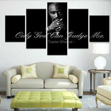 Tupac Amaru Shakur Hip Hop Rap 2 Pac Death Quote Canvas Prints Painting Wall Art