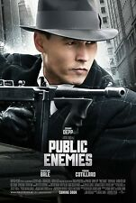 Public Enemies movie poster print: (b) Johnny Depp poster : 11 x 17 inches :