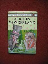 LADYBIRD - Alice in Wonderland by Lewis Carroll (Hardback, 1986)