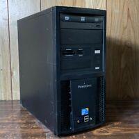 Powerspec B627 Windows 10 Pro Quad Core Computer 2.5ghz 4GB 500GB Serial RS232