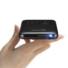 AODIN Mobile DLP Mini Projector VRAM Resolution WXGA 1280 * 800 wifi connection