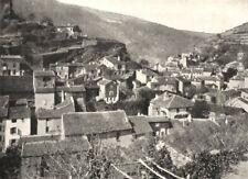 AUDE. Dans La Montagne Noire. Le Mas Cabardès 1900 old antique print picture