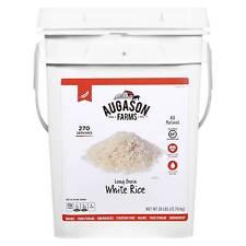 Augason Farms Gluten Free Long Grain White Rice Paul - 28lb