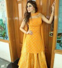 stitched kurti skirt set Bollywood Pakistani Indian wedding dresses custom made