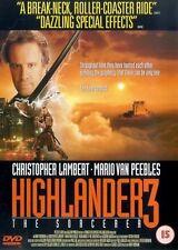Highlander 3 - The Sorcerer [DVD] [1994]  Christopher Lambert, Mario Van Peebles