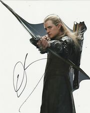 Orlando Bloom Signed THE HOBBIT 10x8 Photo AFTAL OnlineCOA