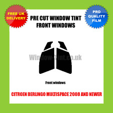 CITROEN BERLINGO MULTISPACE 2008+ FRONT PRE CUT WINDOW TINT KIT