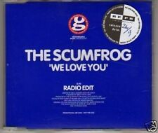 (L562) The Scumfrog, We Love You - DJ CD