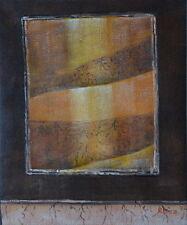 Gemälde - abstrakt - handgemalt Leinwand Acryl Malerei modern Relief Struktur