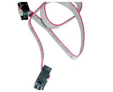 2Pc FC-6P 2.54mm Pitch 30cm Long JTAG AVR Download Cable Wire