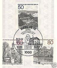 Berlin 1982: Ansichten Nr. 685-687 mit sauberem Ersttags-Sonderstempel! 1A! 1607