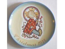 Exc Hummel Christmas Child Plate 1975 Sister Berta