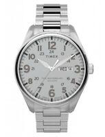 NEU Timex Silber Herren Armbanduhr Waterbury TW2T70800