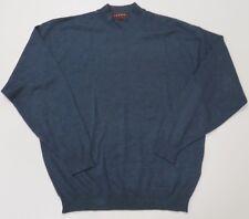 Tundra Mens XL Blue Merino Wool Sweater