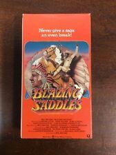 Blazing Saddles (1991, VHS) Gene Wilder Mel Brooks VHSshop.com