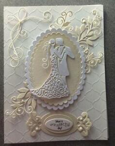 Hochzeit Paar Metall Stencil Cutting Dies Scrapbooking Stanzschablone Karten