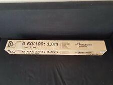 Bosch Worcester 7716191083 60/100mm 1 Meter Flue Extension  new