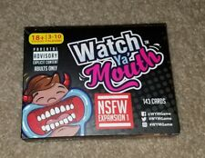 Watch Ya' Mouth Adult Phrase Card Game Expansion Pack #1 New