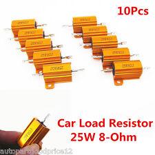 10Pcs Universal Auto Car Load Resistor 25W 8-Ohm Fix LED Bulb Fast Flash Blinker