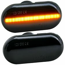 LED SEITENBLINKER schwarz für Renault TWINGO I, TWINGO II, TWINGO III [71013-1]