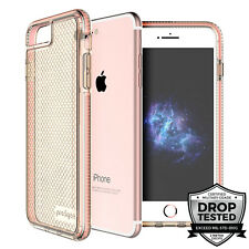 "Prodigee Safetee iPhone 7 PLUS 5.5"" Case Cover Clear Pink Rose 2m' Drop Test"