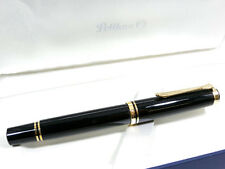 PELIKAN M600 BLACK FOUNTAIN PEN - NICE - WOW LOOOOK