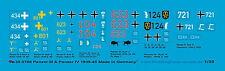 Peddinghaus 0768 1/35 chars III et chars IV Décalques 1939-45