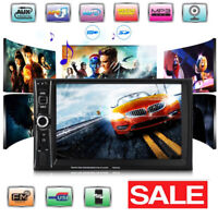 7inch Car MP3 Player Double 2 DIN In Dash Bluetooth +Radio Stereo Audio Player