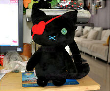 VOCALOID Kagamine Len Black Cat Cosplay Cute Doll Toy Plush Free Shipping