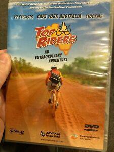 Top Riders NEW/sealed region 4 DVD (2006 Australian bike / cycling documentary)