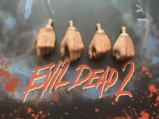 Sideshow Collectibles Evil Dead 2 Ash Left Hands x 4 loose 1/6th scale