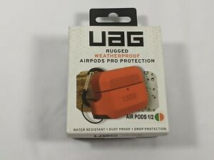 UAG Urban Armor Gear Silicone Case for Apple AirPods Pro Soft-touch Orange/Green