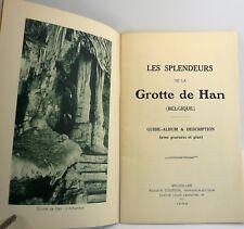 Les splendeurs de la grotte de Han, Belgique 1933