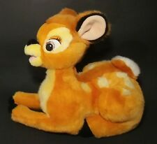 """Disney Bambie Plush Doe Deer Stuffed Animal Laying Soft Toy 12"""""""