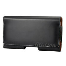 Samsung Galaxy Note II 2 GT-N7100 N7105 i317 i605 Belt Clip Leather Case Holster