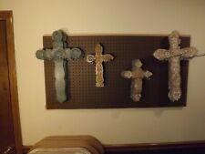 Ornate Hand-crafted Wooden Cross-NEW-several styles to choose from