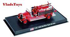 Amercom 1:64 Buffalo Type 50 Fire Truck Excelsior Fire Company No.1 NJ  ACSF52