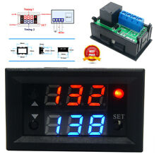 12V 20A T2302 Timing Delay Relay Module Cycle Timer Digital LED Dual Display