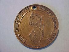 Vintage New Jersey State Nurses' Association Medal                      Nursing