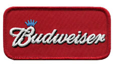 Budweiser Maroon Badge Embroidered Patch Sew/Iron - on 9cm